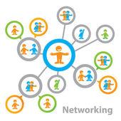 Networking — Stock Vector