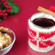 Christmas tea — Stock Photo #8034598