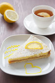 Lemon cake — Foto de Stock
