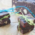 Chocolate Fudge — Stock Photo