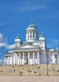 Cathedral on Senate Square in Helsinki — Stock Photo