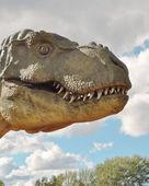 Dinosaur Tyrannosaurus rex — Stock Photo