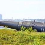 Old Russian Cannon in Suomenlinna Sveaborg Helsinki Finland — Stock Photo
