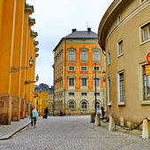 Old Town (Gamla Stan) on June 11, 2009 in Stockholm — Stock Photo