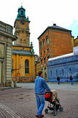 Storkyrkan Church at the Gamla Stan in Stockholm — Stock Photo