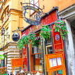 Stock Photo: Pub on street of Old Town (GamlStan) in Stockholm