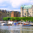 Panorama of Stockholm — Stock Photo #9620681