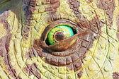 Triceratops dinosaur eye — Stock Photo
