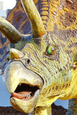 Triceratops portrait — Stock Photo