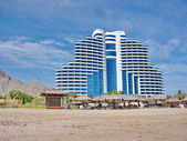 Le Meridien Al Aqah Beach Resort — Stock Photo