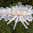 Garters wedding Accessories — Stock Photo
