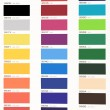 Stock Photo: Color table