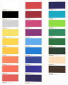 Color table — Stock Photo