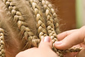 Plait braid — Stock Photo