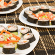 Sushi fish — Stock Photo