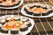 Peixe sushi — Fotografia Stock