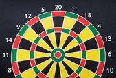Flerfärgad mål för dart — Stockfoto