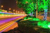 Highway Night — Stock Photo