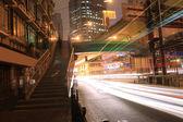 The Highway Night light — Stock Photo