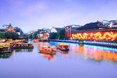 Nanjing kanal gezisi konfüçyüs — Stok fotoğraf