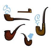 吸烟管 — 图库矢量图片