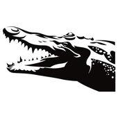 Crocodile Alligator — Stock Vector