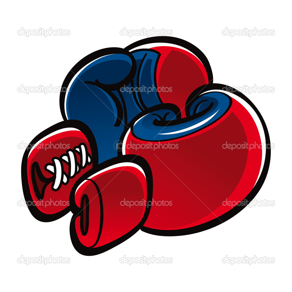 Boxing Gloves sport fight duel conflict — Stock Vector #8337166