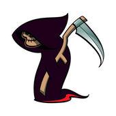Death - Halloween suit — Stock Vector