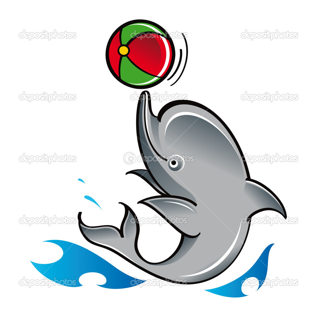 Игры рисовать дельфинов