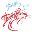 Thanksgiving — Vector de stock #9746786