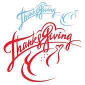 Thanksgiving — Vector de stock