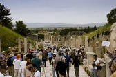 Scenic view of Ephesus site — Stock Photo