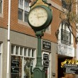 Stock Photo: Antique Clock of Salem city