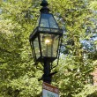 Gas light lampost — Stock Photo