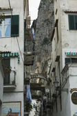 Cortile di amalfi via — Foto Stock
