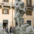 Moor Fountain in Rome — Stock Photo