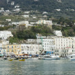 Capri harbour — Stock Photo