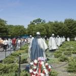 Korean War Veterans Memorial — Stock Photo #8054501