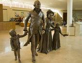 Washington George bronze sculpture — Stock Photo