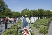 Korean War Veterans Memorial — Stock Photo