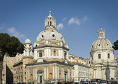 Venezia Square century churches — Stock Photo
