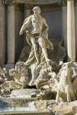Fountain di Trevi sculpture — Stock Photo