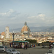 Florence from Michelangelo piazza, Italy - Stockfoto