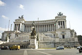 Victor Emmanuel monument — Stock Photo
