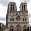 Cathedral Notre-Dame of Paris — Stock Photo