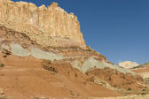 Rock formations of Capitol Reef — Stock Photo
