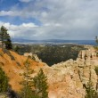 Rainbow Point at Bryce Canyon - Stock Photo