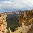 Window view at Bryce Canyon — 图库照片