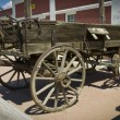 Stock Photo: Old horse wagon