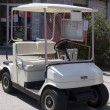 Stock Photo: Golf cart in display